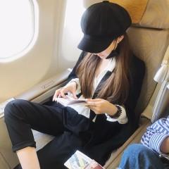 早秋韩版chic个性不规则披风斗篷个性针织开衫外套女